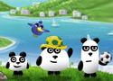 3 Pandas in Brazil hazajutós játékok