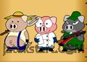 3 Lil Pigs - Home Defense játék