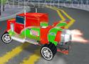 3D Jet Truck kamionokkal versenyzős