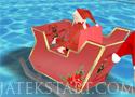 3D Santa Racing nyerd meg a versenyt a Télapóval
