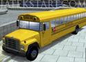 3D School Bus Parking buszos parkolós játékok