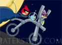 Angry Birds Space Bike tekerj az űrben