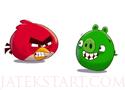 Angry Birds Bad Pig találd el a zöld röfiket