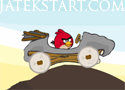 Angry Birds Car Revenge gyűjts malacfejeket