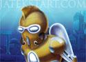 Atlantis Defender mászkálós platform játék
