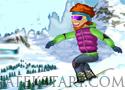 Avalanche Stunts snowboard a hegyekben