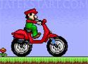 Bario Moto Mobil motoros máriós játék