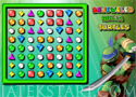 Bejeweled Ninja Turtles hármasítós játék
