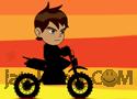 Ben10 Hard Bike Játék