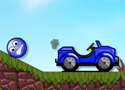 Bluey vidd a kék golyót a kocsihoz