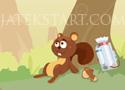 Captain Nutty mókusos ügyességi játékok