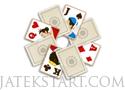 Carriage Solitaire pasziánsz kártyás játék