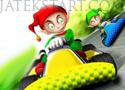 Chistmas Elf Race 3D versenyezz a manókkal