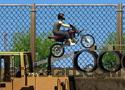 Construction Yard Bike játék