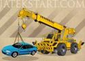 Crane Parking Mania rakodós szállítós játék