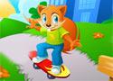 Crazy Squirrel bringás deszkás játék