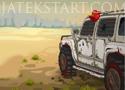 Dead Paradise akciójáték felfegyverzett kocsival