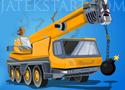 Demolition Crane Parking zúzz rombolj és parkolj le