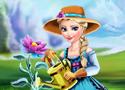 Elsa Ice Flower kertész játék