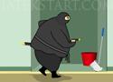 Fat Ninja teljesítsd a küldetéseket a dagi nindzsával