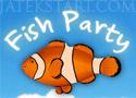 Fish Party zuhatag játék halakkal