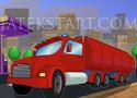 Gas Tank Parking kamionos szállítós játékok