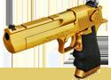 Golden Desert Eagle lődd le aki szembeszáll veled a játékban