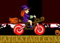 Halloween Motorbike Játékok