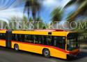 Long Bus Driver 2 parkolj le a csuklósbusszal