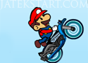Mario Combo Biker motoros játék
