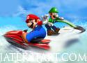 Mario Jetski Race verseny a tengeren