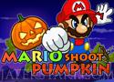 Mario Shoot Pumpkin lövöldözős játék tökökre