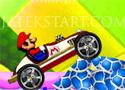 Mario Stunt Car Máriós autós ügyességi játék