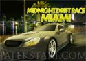 Midnight Drift Race Miami felülnézetes autóverseny
