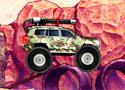 Military Combat Truck hajts végig a terepjáróddal