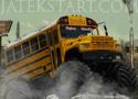 Monster Bus zúzz végig a pályákon a busszal