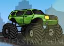 Monster Truck Obstacle Course autózz és gyűjts pénzt