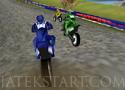 Mountain Motocross motorverseny a hegyekben