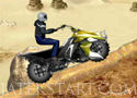 Offroad Tricky Racer hegyeken át motorral