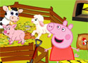 Peppa Pig Feed The Animals nevelj állatokat