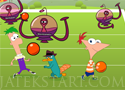 Phineas and Ferb Alien Ball labdajáték idegen lényekkel