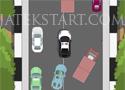 Police Driving Obstacle Course rendőrautós ügyességi játék