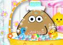 Pou Takes A Shower fürdetős játékok