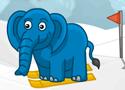 Prumpa Goes Skiing elefántos síelős
