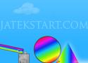 Rainbow Delivery juttasd a gömböt a dobozba