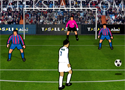 Real Madrid Soccer Stars kapuralövő játék