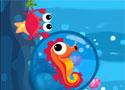 Sea Horse Bubble Escape tengeri herkentyű