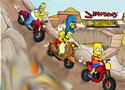 Simpsons Family Race motorversenyes játékok