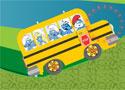 Smurfs School Bus Ride buszozz a törpökkel