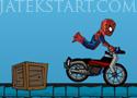 Spiderman Combo Biker pókemberes motoros